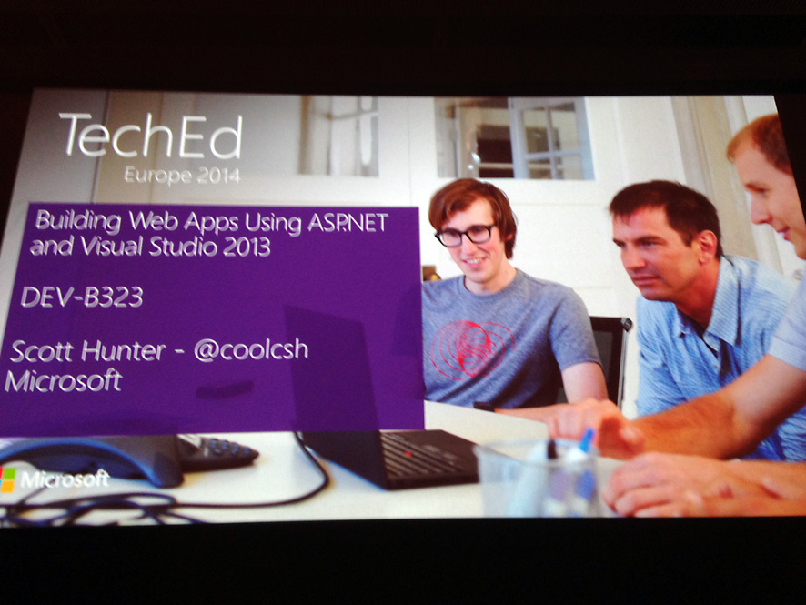 Building Web Apps Using ASP.NET and Visual Studio 2013 (DEV-B323) by Scott Hunter