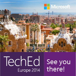 Microsoft TechEd Europe 2014